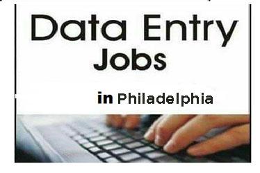 work from home data entry jobs Philadelphia