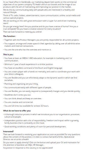 Marketing Officer Jobs